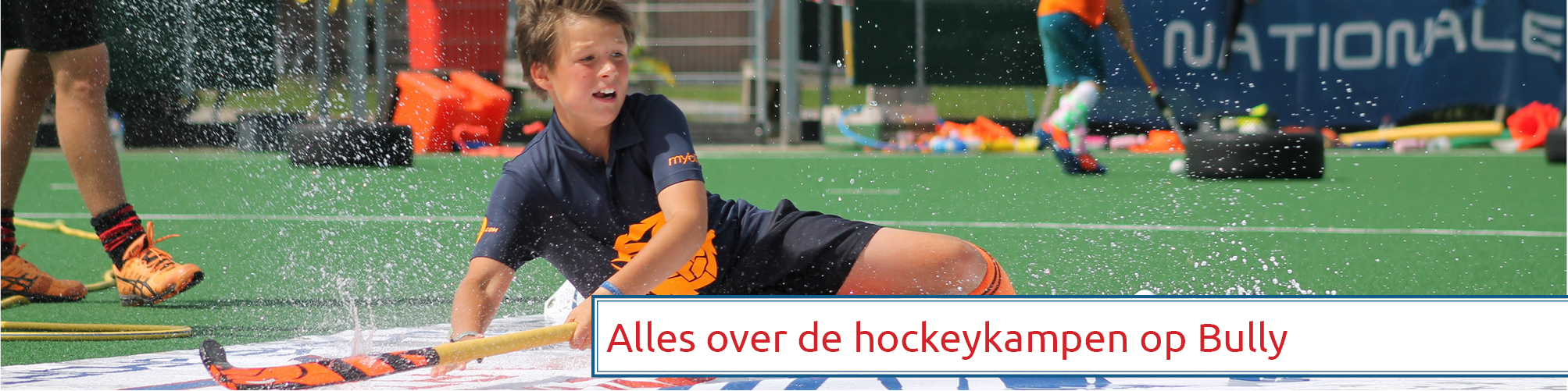 Nationale Sportkampen op OHC Bully